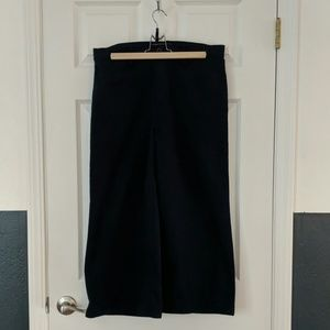 J. Crew Point Sur cropped wide leg pants